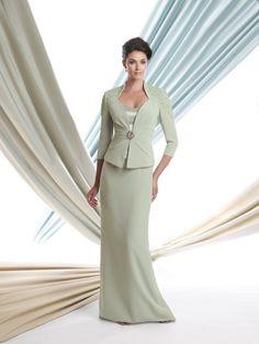 d9919964e5c Montage by Mon Cheri 113900 Two-piece silky crepe suit
