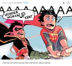 I feel like someone should have warned Jon about Damian