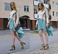 MINTY SKIRT (by Frida Johnson) http://lookbook.nu/look/3560811-MINTY-SKIRT