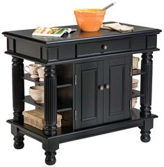 Home Styles 5092-94 Americana Kitchen Island, Black Finis... https://smile.amazon.com/dp/B002KEANO2/ref=cm_sw_r_pi_dp_uPTJxbBGFW8KB