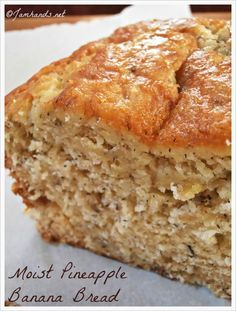 1/2 cup butter, softened 1 cup sugar 2 eggs 1/2 cup mashed ripe banana 1/3 cup drained crushed pineapple 1/2 cup flaked coconut 2 cups all-p...