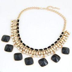 KL4634 - Aksesoris Kalung Gems Diamond