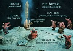 The Clangers Friendly Society, Magic Roundabout, Amai, Bottle Painting, Stop Motion, Inspire Me, Childhood Memories, Character Inspiration, Growing Up