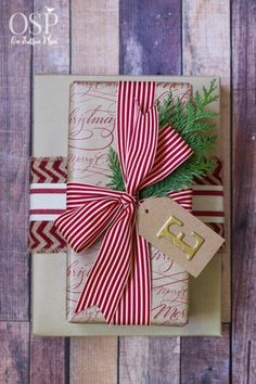 Christmas Gift Wrap Ideas and Inspiration   Tips and tricks for making wrapping presents at Christmas fun and easy. From On Sutton Place. #Sponsored