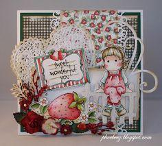 love the strawberry Magnolia