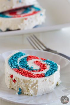 4th of July Cake Roll - Taste and Tell