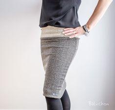 BALUCHON 3 EN 1 TUBE/TUNIQUE/JUPE FOULARD MOTIFS JERSEY NOIR/BEIGE Motifs, Sequin Skirt, Sequins, Beige, Skirts, Fashion, Headscarves, Skirt, Tunic