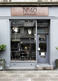 shops, № 40 COPENHAGEN, French industrial vintage heaven at № 40 on Gammel Kongevej, Shop selling beautiful industrial design objects, floor lamps and furniture constructed from pieces which the owner picks up on regular trips to France. Cafe Bar, Cafe Shop, Cafe Restaurant, Restaurant Design, Design Hotel, Café Design, Store Design, Interior Design, Design Ideas