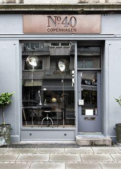 № 40 COPENHAGEN ~ French industrial vintage heaven at № 40 on Gammel Kongevej. Shop selling beautiful industrial design objects.