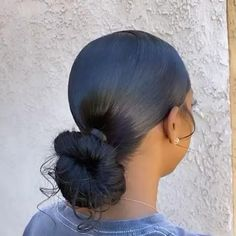 Hair Ponytail Styles, Weave Ponytail Hairstyles, Black Girl Braided Hairstyles, Sleek Ponytail, Girl Hairstyles, Curly Hair Styles, Natural Hair Styles, School Hairstyles, Love Hair