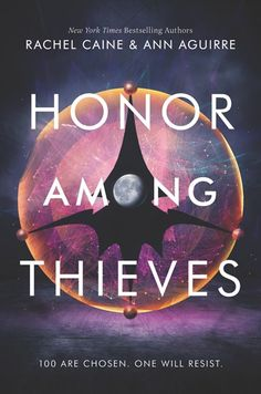 #CoverReveal   Honor Among Thieves (The Honors, #1) by Rachel Caine, Ann Aguirre