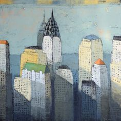 Arden Gallery   Paul Balmer   New Cityscapes   January 30 - Fabruary 25