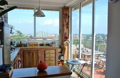 Wonderful penthouse with terrace - Montemario Rome