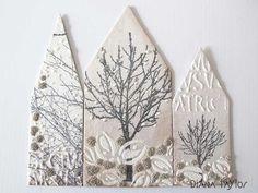Winter Garden Trio by Velvet Moth Studio
