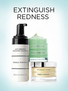 These products are awesome for reducing redness.  Also have a anti-redness foundation primer.