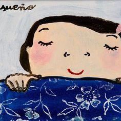 #evaarmisen #sueño Eva Armisen, Tender Is The Night, Disney Characters, Fictional Characters, Snow White, Artsy, Snoopy, Disney Princess, Illustration