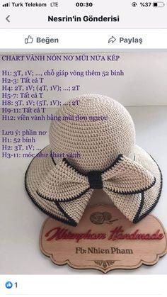 Crochet Cap, Crochet Gloves, Crochet Home, Crochet Stitches, Sombrero A Crochet, Sewing Patterns, Crochet Patterns, Summer Hats, Creative Crafts