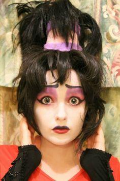 Lydia: Beetlejuice Makeup Test by Hopie-chan on deviantART