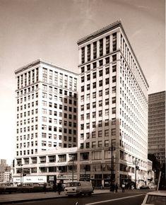 Lafayette Building.  Gone now - Old photos — Historic Detroit