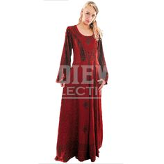 Long Sleeved New Age Dress - FX1020 by Medieval Collectibles