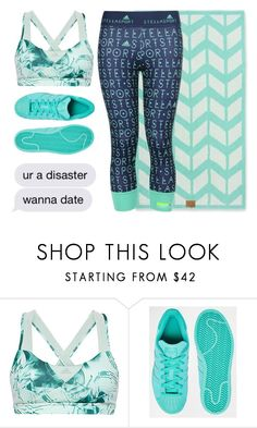 """""""wanna date"""" by lipstickytoffee ❤ liked on Polyvore featuring Hawke and adidas"""