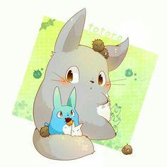 My Neighbor Totoro, cute; Studio Ghibli