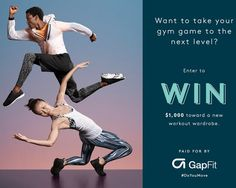 One winner will receive the Grand Prize of one $1,000.00 Gap gift card for use online or in-store with no expiration. Sign up on the site for your chance.