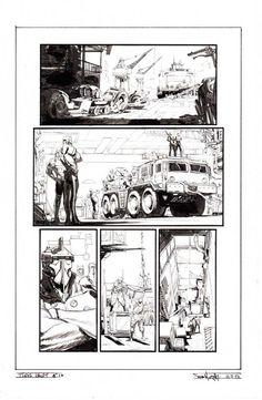 Tokyo Ghost Issue 6 p.16 by Sean Gordon Murphy