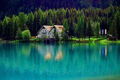 Bolzano Itália -lago di Anterselva