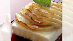 Receta de Mousse de queso con manzana asada
