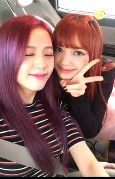 Jisoo and Lisa