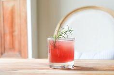 rosemary pomegranate gin fizz   #whiskeybusiness #proseccointhepark