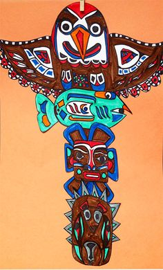 totem pole art | By artsmudge 25 March, 2013 No Comments