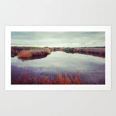 +autumn+tranquillity+Art+Print+by+Steffen+Glaeser+-+$20.00