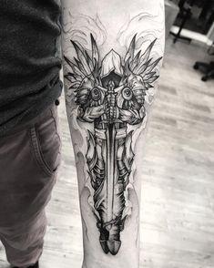 Skull Rose Tattoos, Skull Sleeve Tattoos, Forearm Sleeve Tattoos, Head Tattoos, Dope Tattoos, Tattoo Sleeve Designs, Tattoo Designs Men, Body Art Tattoos, Badass Tattoos