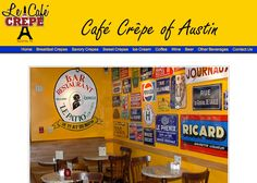 Le Cafe Crepe, Austin/TX - French, crepes