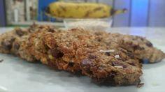 Galletas de avena y guineo - Chef Edgardo Noel