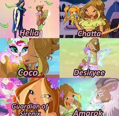 Club Das Winx, Bloom Winx Club, Twisted Princesses, Flora Winx, Centaur, Fairy Tail, Harry Potter, Disney, Tips