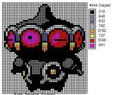 344 Claydol by cdbvulpix.deviantart.com on @deviantART