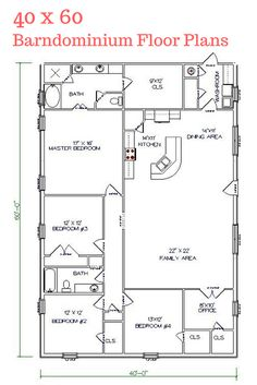 40x60 floor plans - google search | floorplans | pinterest
