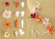 The 77 best paper flowers diypaprvirgok images on pinterest in paper flower garland diy mightylinksfo