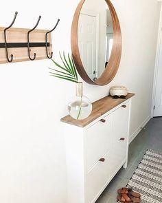Easy Shoe Cabinet Ikea Hack for a Modern Boho Entryway Ikea Furniture Hacks, Ikea Hacks, Furniture Ideas, Ikea Shoe Cabinet, Boy Decor, Kid Bedrooms, Girl Rooms, Child Room, Room Kids