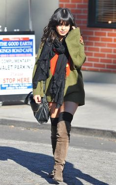 Vanessa Hudgens Out on Christmas Eve December 24 2011