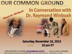 """12 Years A Slave"", the movie Dr. Raymond A. Winbush November 16, 2013"