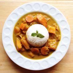 Dýňové curry Curry, Curries