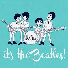 Beatles caricatura
