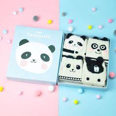 Good humeur Unisexe Panda animal adulte Chaussettes