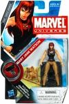 Name: Mary Jane Manufacturer: Hasbro Toys Series: Marvel Universe Series 9 Release Date: May 2010 For ages: 4 and up Details (Description): Every guy remembers the girl who got away. For Spider-Man, that girl is Mary Jane Watson. For reasons neither of them can quite put their finger on, a relationship that should have been a love for the ages just never worked out. After the break-up, MJ headed west to pursue her acting career, while the wall-crawler stayed in New York to defend the city he…