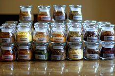Smitten Kitchen's spices, but we roll like this too :-)  cause we stole it from her, I'm not that cool