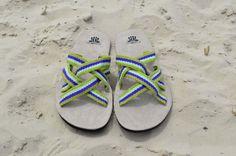 """WAYUU SANDALS US9.5-10/EUR43/UK9-9.5. Typical Wayuu Indian footwear called """"Wayrenas."""" www.colombiart.co"""
